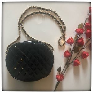 Bags - BOHO Quilted Patent Leather Handbag